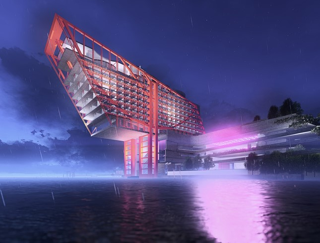 Marshall Day is on the design team for the Mona HoMo Hotel