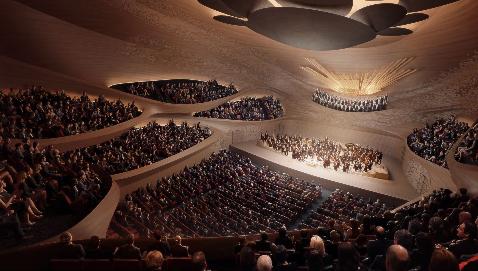 Marshall Day working with Zaha Hadid Architects to design Sverdlovsk Philharmonic Concert Hall
