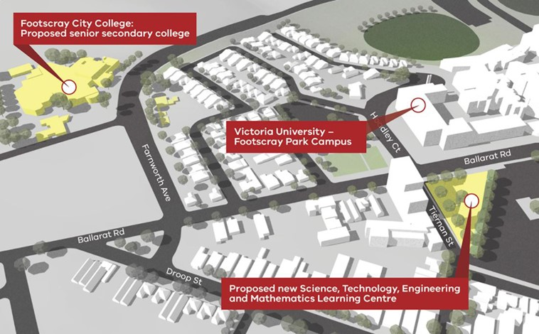 Footscray Learning Precinct - A national first in integrating learning at all levels