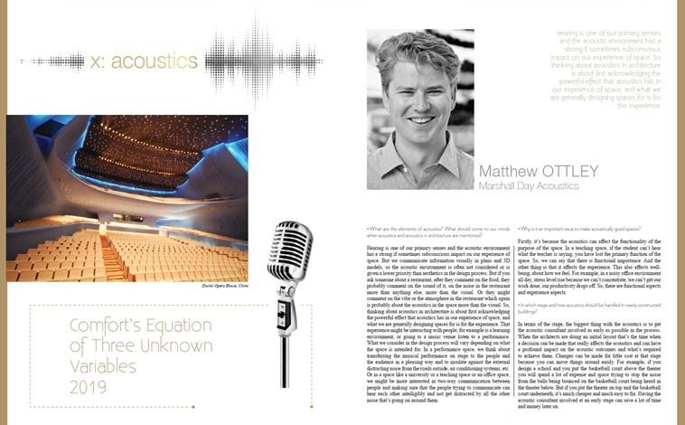 Matthew Ottley interview in Konsept Projeler
