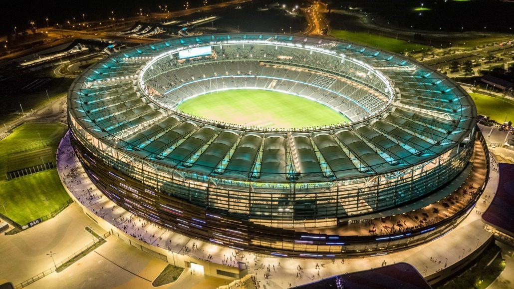 Optus Stadium Opens in Perth