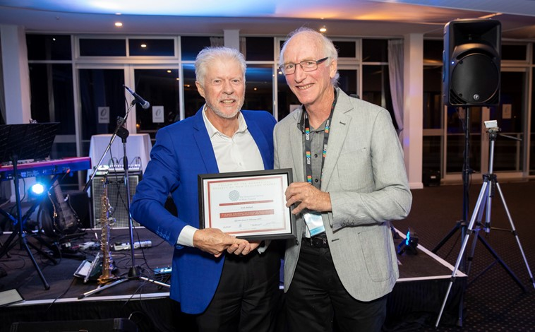 Fellowship of the Acoustical Society of NZ awarded to Keith Ballagh