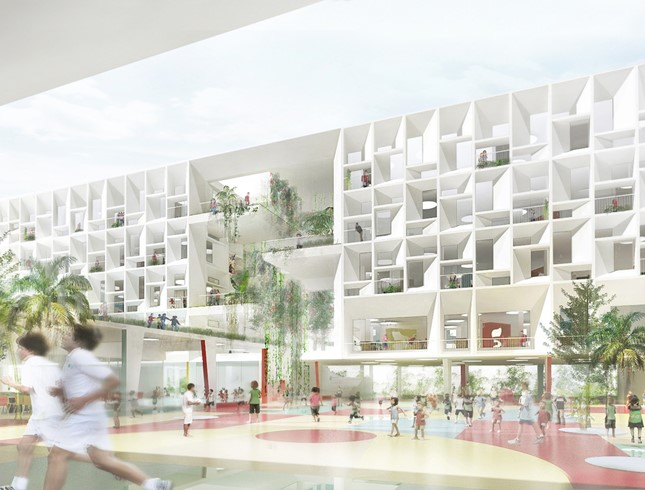 Concours lauréat : Nouveau Lycée Français International Hong Kong