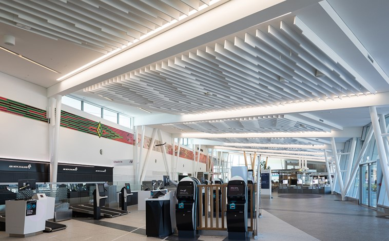 New Plymouth Airport New Terminal Building