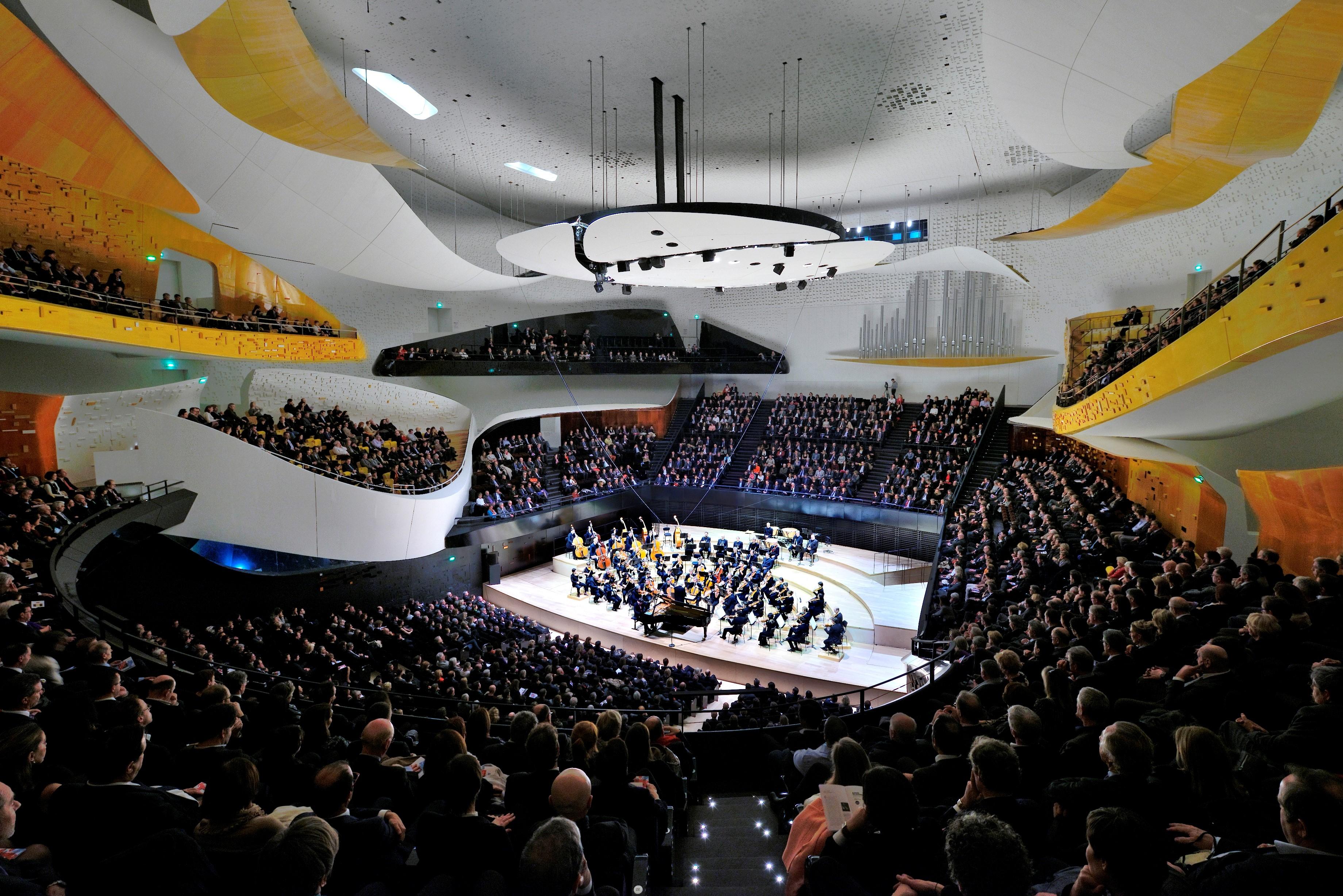 Video presentation on the acoustic design of the Philharmonie de Paris