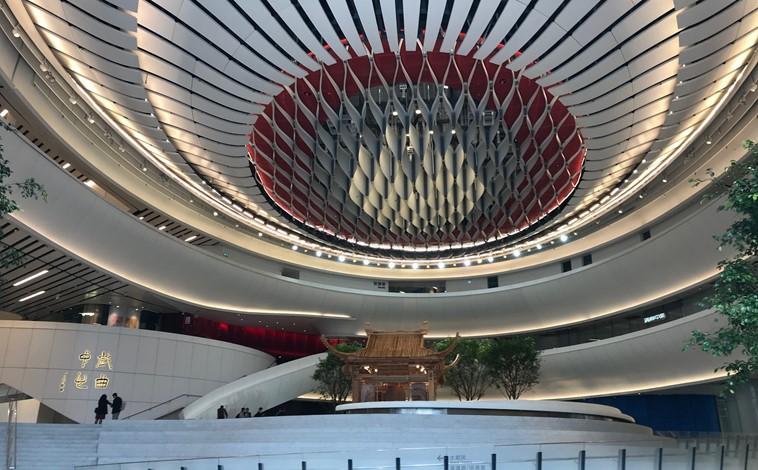 Notre équipe de Hong Kong visite le nouveau Xiqu Centre avec l'Acoustical Society of America