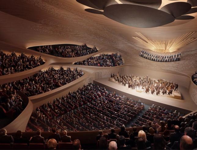 Marshall Day Acoustics aux côtés de Zaha Hadid Architects pour la nouvelle salle philharmonique de Sverdlovsk