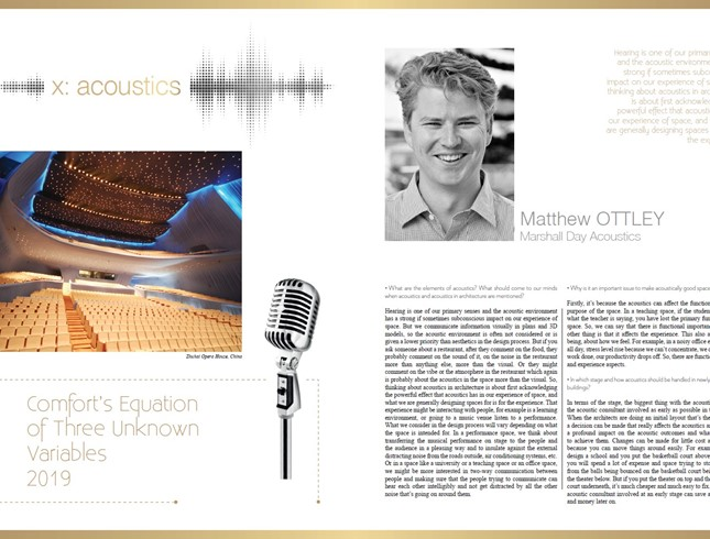Matthew Ottley interview in Konsept Projeler