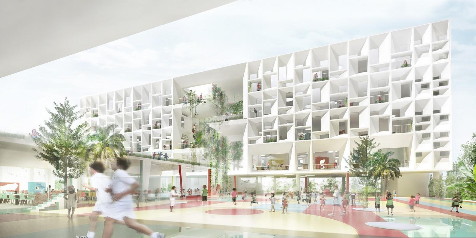Won: French International School, HKD $455m New Campus, Hong Kong