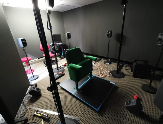 Listening Room Update - Vibration