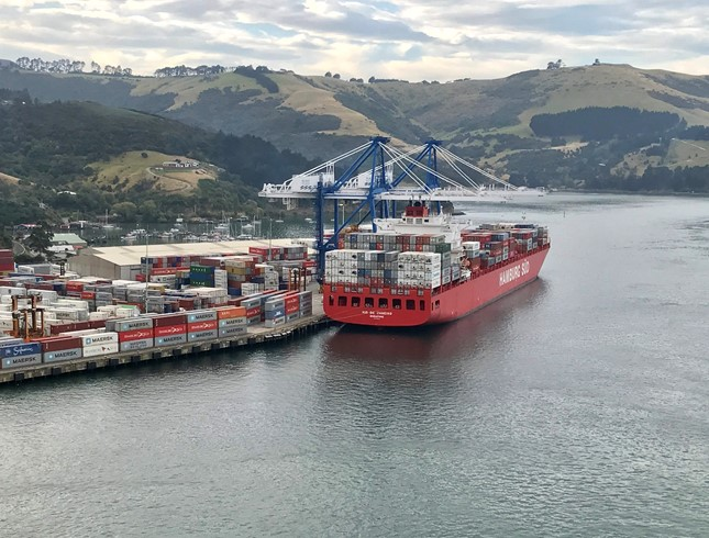 New Reactive Ship Silencers at Port Otago