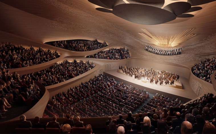 Marshall Day working with Zaha Hadid Architects to design Sverdlovsk Philharmonic Concert Hall