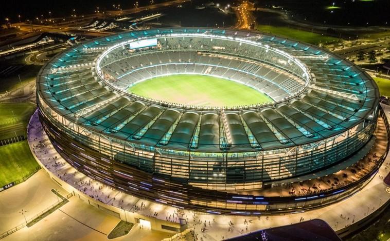 Optus Stadium Opens in Perth