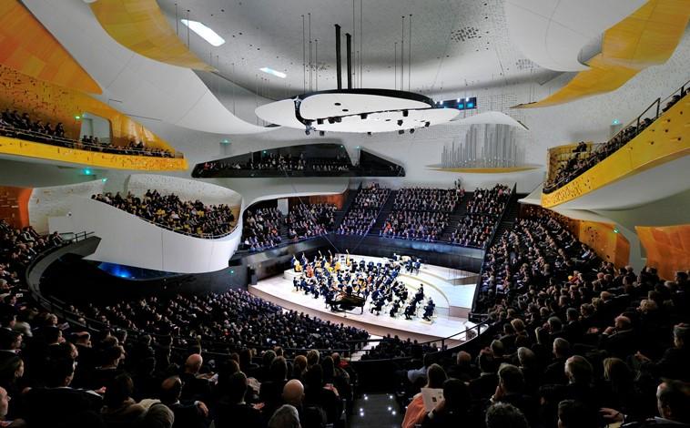 Du concept à l'inauguration - Présentation sur la Philharmonie de Paris au SACA